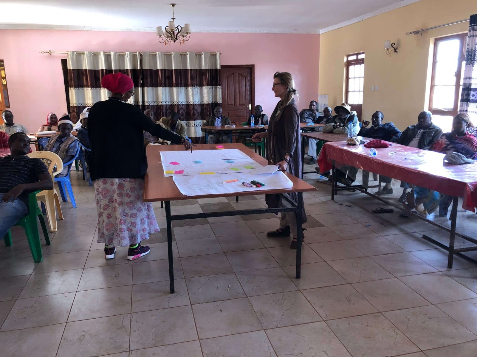 participatory discussions led by Sigrid Aubert, CIRAD